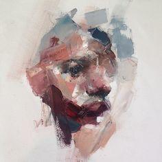 Ryan Hewett Abstract Portrait, Portrait Art, Abstract Art, Art Inspiration Drawing, Art Inspo, Ap Studio Art, Organic Art, Minions, Portraits