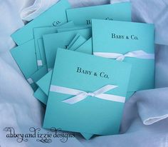 Azul Tiffany Baby Shower
