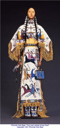 Canku Ota - March 2014 - Rhonda Holy Bear - Lakota Doll Artist