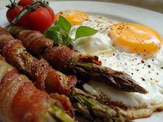 LCHF-bloggen: Egg og baconasparges