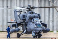 Russian Mil Mi-24 helicopter went from drawing board in 1968 to first test-flights in less than eighteen months. The first models were delivered to the armed forces for evaluation in 1971.  There have been many variations over the years and it is still being developed.