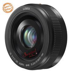 Panasonic-lumix-g-20mm-f-1-7-II-lappareil-lens-f1-7-mk-2-Noir-NEUF