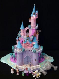 Polly Pocket Cinderella Castle. I still think I have this lol