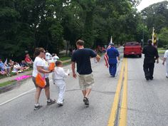 Marching in the Parade