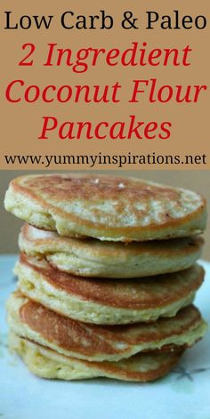 Pancakes Vegan, Low Carb Pancakes, Pancakes Easy, Breakfast Pancakes, Keto Pancakes Coconut Flour, Breakfast Cereal, Diet Breakfast, Mcdonalds Breakfast, Breakfast Gravy