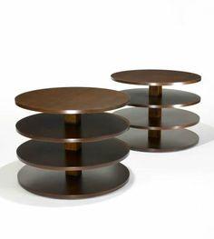 Tables from 1935 by Gregori Warchavchik - Originally born in Odessa, Ukraine, Warchavchik moved to Brazil in 1923