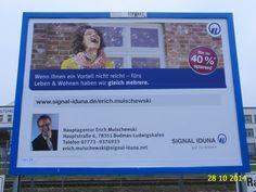 424. - Plakat in Stockach. / 28.10.2014./