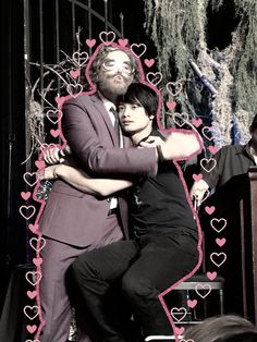 Timothy Omundsom and Osric Chau