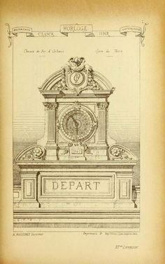 Materials and documents of architecture and sculpture, Paris, 1872-1914