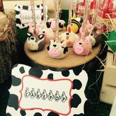 animal cakepops