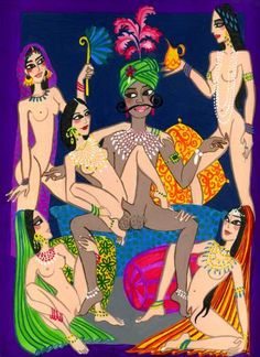 "Saatchi Art Artist elise collet soravito; Painting, ""samghataka"" #art"