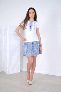In stock! White Embroidered Blouse Geometric Embroidery Viscose T-shirt for Women Ukrainian Vyshyvanka Modern Vyshyvanka Sleeves Short Boho Unique Gifts For Sister, Geometric Embroidery, Bohemian Blouses, Linen Blouse, Cotton Viscose, Red Blouses, Embroidered Blouse, Happy Shopping, T Shirts For Women