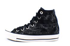 Converse Chuck Taylor All Star Women's Black Rose Print Hi Shoe