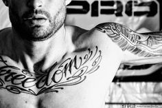 The journey in becoming Tatted and Shredded for some is a form of finding Freedom in life...