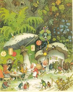 Tiny tavern, by Fritz Baumgarten