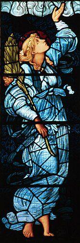 Hope, St Martin's Church, Cumbria, by Sir Edward Burne-Jones || stained glasses .. X ღɱɧღ ||