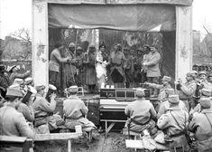 Le front et les premières lignes près du saillant de Saint-Mihiel, début mars 1916. – ECPAD
