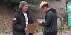 LOS ANGELES — Josh Paler Lin wanted find out what a homeless man does after he's unexpectedly given $100. After picking the random man, who said his name was Thomas, and handing him $100 in cash, h...