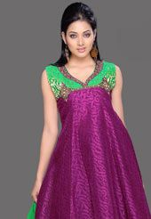 I love this Anarkali- In bright colors, this just can't get any better!