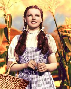 The Most Memorable  Movie Hair Styles of All Time: Judy Garland in The Wizard of Oz