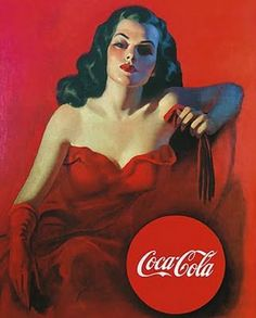 Vintage Coca cola advertising