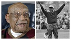 On February 2015 golfer Charlie Sifford died at the age of He was the first African American admitted to the PGA tour, and the first to win a tournament (Long Beach Open, He was awarded the Presidential Medal of Freedom in Black History Books, Us History, American History, American Athletes, Black Image, New Hobbies, Beautiful People, Amazing People, Black People