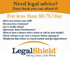 Price Is To Low For A Great Service. andreshinault.legalshieldassociate.com