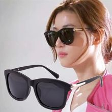 Wholesale 2015 New fashion vintage black classic frame eyeglasses women ray brand sunglasses men sun glasses points steampunk