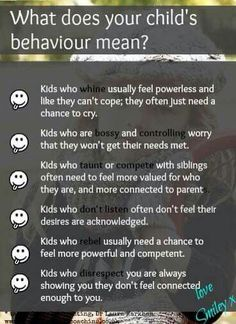 Child Behavior Language