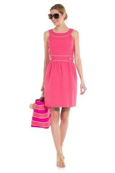 Sail To Sable Dot at Dunmore Belted Dress by Sail to Sable from THE LUCKY KNOT