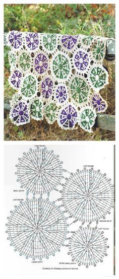 Irish crochet &: CROCHET BLANKETS ... ПЛЕДЫ