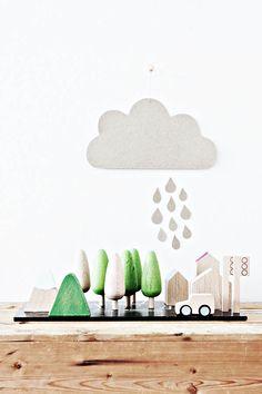 Houten speelgoed van de Japans ontwerpstudio Kiko+ | Wooden toys by Japanese design firm Kiko+