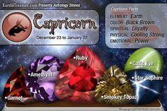✯ Capricorn -:¦:- December 23 and January 22 ✯