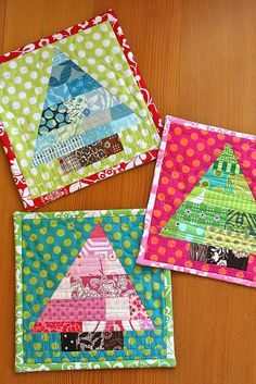 tutorial found and paper piecing pattern in Quilting Arts Gifts 2009-2010