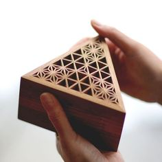 Kumiko Art Box PTT - $520.00 : Artezanato Studio, Kumiko - Japanese lattice often used for shoji screens or transoms has developed its own unique forms and techniques since the 16th century along with Shoin-zukuri residential structure. As diminishing demands of Kumiko techniques sought for modern architectures, this artful craftsmanship is one of endangered architectural traditions.