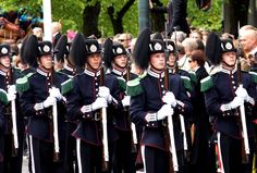 Hans Majestet Kongens Garde ( His majesty's protection)