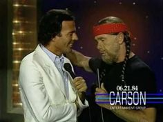 "Johnny Carson & Julio Iglesias - ""To All the Girl's I've Loved Before"" on ""The Tonight Show"" - 1984"