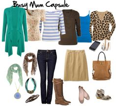 """""""Busy Mum Capsule"""" by imogenl on Polyvore"""