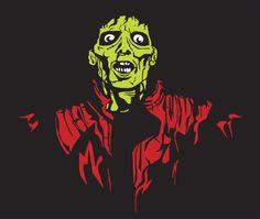 Cool Michael Jackson Thriller Zombie Tshirt