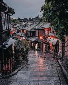 ITAP of a rainy street in Kyoto - - Post with 0 votes and 453518 views. ITAP of a rainy street in Kyoto. Aesthetic Japan, City Aesthetic, Travel Aesthetic, Image Japon, Places To Travel, Places To Visit, Rainy Street, Japan Street, Japon Illustration