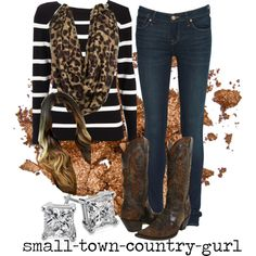 """""""Classy Country girl"""" by small-town-country-gurl on Polyvore"""