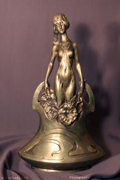 Ars Nouveau Bronzes Charles (Karl) Korschann   Bronze - KORSCHANN