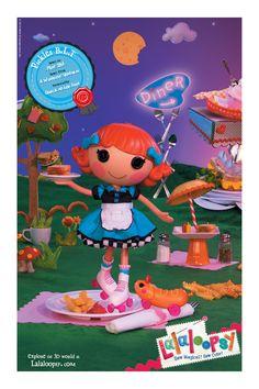 Lalaloopsy Pickles B.L.T. Poster #Lalaloopsy #LalaloopsyLand #SewMagical #SewCute #LalaloopsyPoster #PicklesBLT #Diner