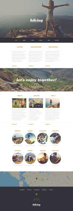 Camping Responsive #WordPressTheme wordpress website template