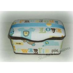 Nursery theme wipe case
