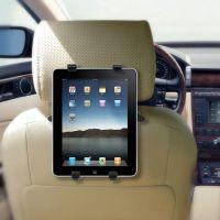iPad 1/2/3/4/Air - Holder til bagsæde - sort