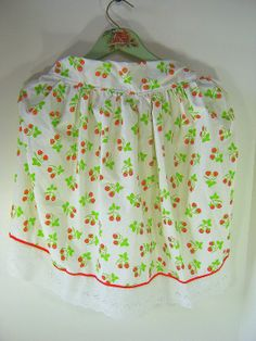 Lavender Garden Cottage: Strawberry Festival & a GIVEAWAY! Strawberry Apron Giveaway! Just leave a comment to win!