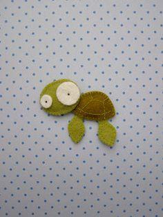 Filtdyr - skildpadde - set på bloggen Håndarbejdsom