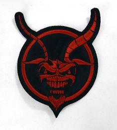 85e1fc3a775d2 Iron Maiden - Demon Eddie Embroidered Patch Iron Maiden