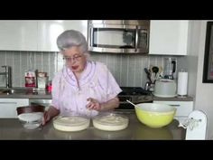 Oma makes her famous Birthday cake that she has been making for family birthdays for many many years. In her adorable and endearing way, Oma shares this very. Hungarian Recipes, Hungarian Food, Cake Youtube, Family Birthdays, Cabbage Rolls, Chocolate Frosting, Cooking Videos, Special Recipes, Vanilla Cake